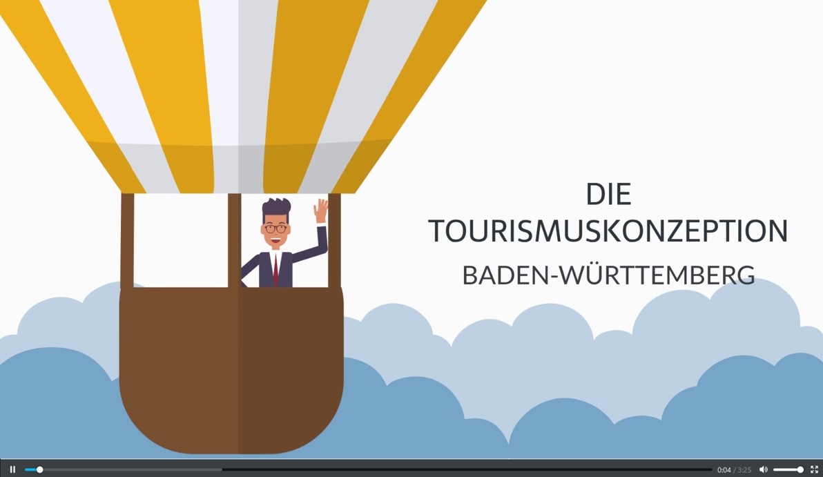 Tourismuskonzeption Baden Wuerttemberg Video