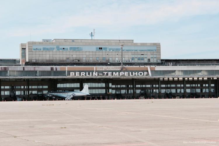 dwif ermittelt Besucherpotenzial für Flughafengelände Berlin Tempelhof (Bild: Pim Menkveld@Unsplash)