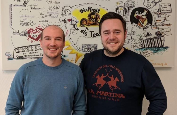 dwif: Willkommen im Team! Stefan Obermoser & Constantin Schaffer verstärken die Betriebswirtschaftliche Beratung