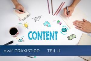 Praxistipp: Content dort platzieren, wo Gäste nach ihm suchen