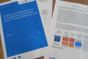 """dwif: Projektabschluss """"Evaluierung der Maßnahmen zur Tourismusförderung im Rahmen des OP Thüringen EFRE 2014-2020"""""""