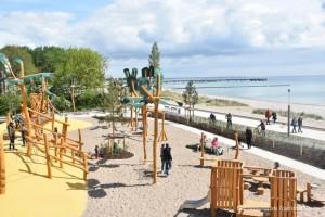 Der erste Teilabschnitt der neuen Promenade ist bereits fertig (Bild: Großenbrode Tourismus Service)