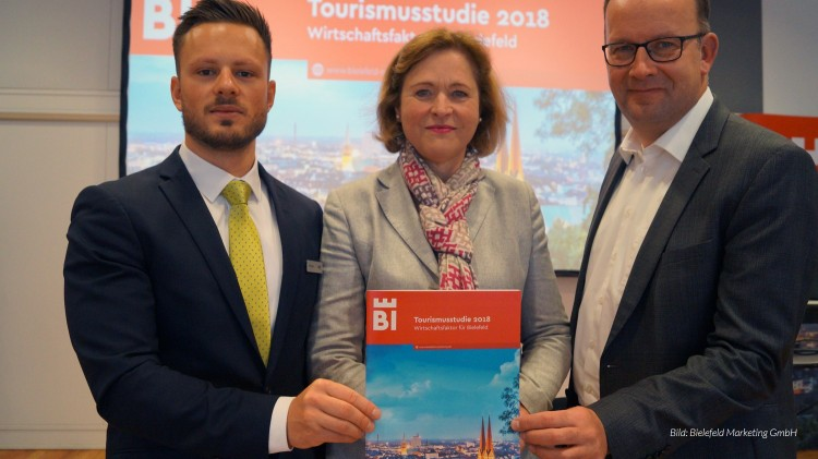dwif-Studie: Wirtschaftsfaktor Tourismus Bielefeld - Bruttoumsatz von 652,7 Millionen Euro (Bild: Bielefeld Marketing GmbH)