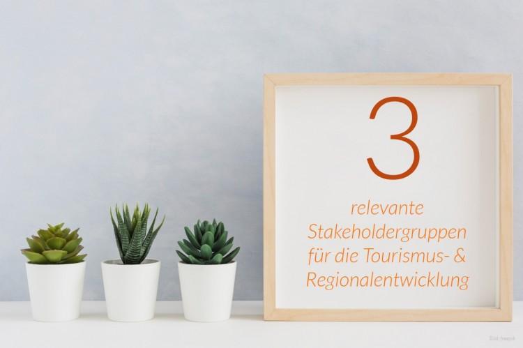 dwif Zahl der Woche: Relevante Stakeholdergruppen für die Tourismus- & Regionalentwicklung (Bild: freepik)